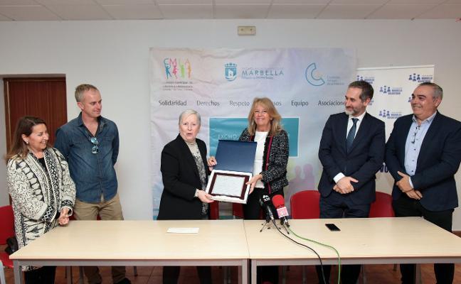 Colaboración municipal y de La Caixa con Marbella Voluntaria