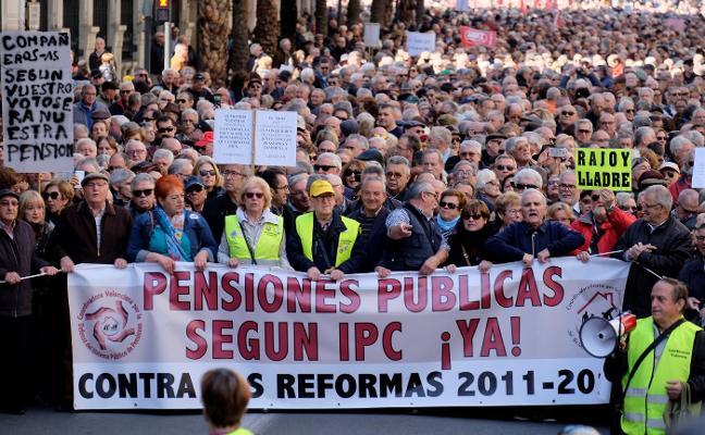 UGT y CC OO volverán a tomar la calle por las pensiones el 15 de abril
