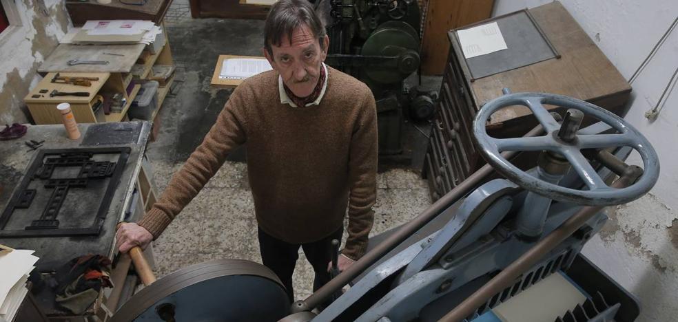 Cumpián: el último impresor a plomo