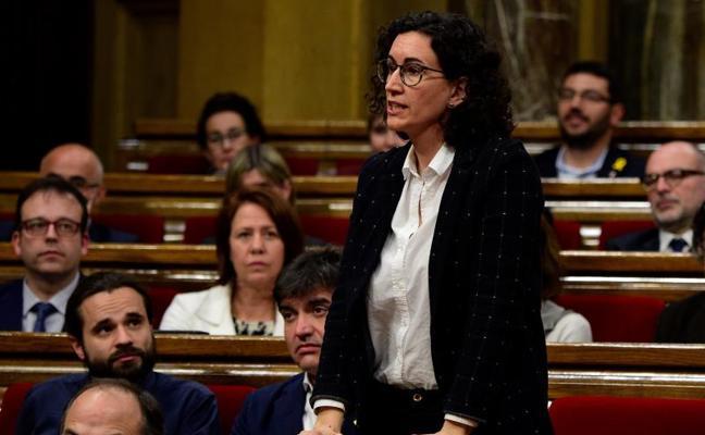 Marta Rovira no acude al Supremo y huye a Suiza