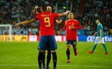 España toca y Alemania golpea