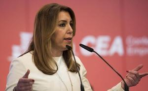 Susana Díaz no tiene «ni un minuto» para pensar en las políticas del PSOE porque «no me interesa nada de nada»