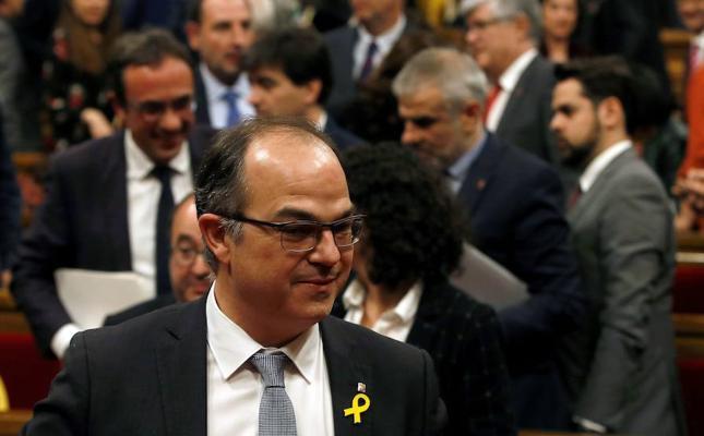 La Fiscalía de Cataluña investiga a Turull por ceder su patrimonio a su mujer antes del 1-O