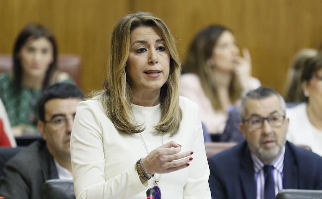 Susana Díaz no tiene «ni un minuto» para pensar en las políticas del PSOE