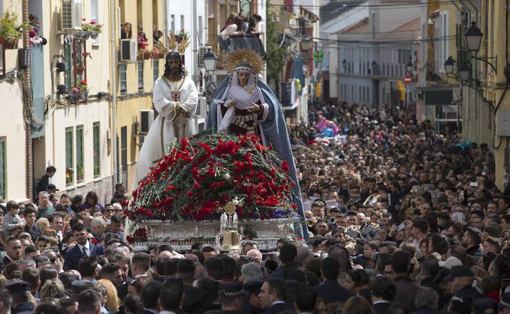 En fotos, el traslado del Cautivo en la Semana Santa de Málaga 2018