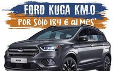 ¿Un Ford KUGA por solo 184€ al mes? Ford Autovisa lanza 7 unidades