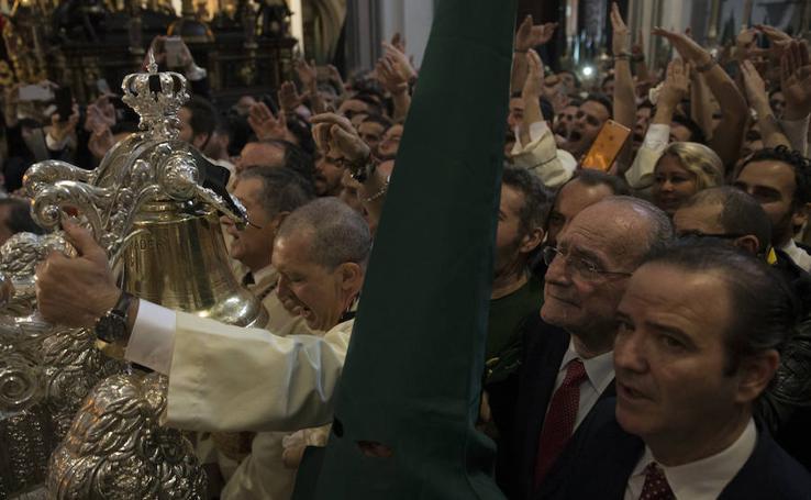 Fotos de Lágrimas y Favores en la Semana Santa de Málaga 2018
