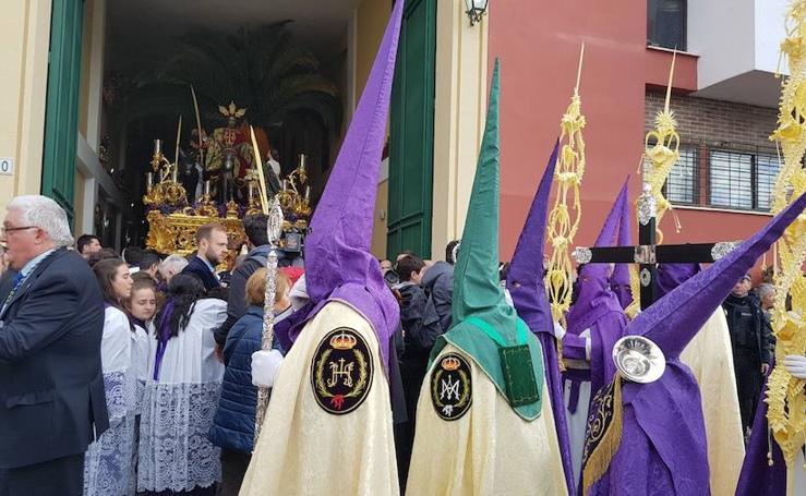 Fotos Nuestro Padre Jesús a su entrada en Jerusalén (Pollinica) y María Santísima del Amparo