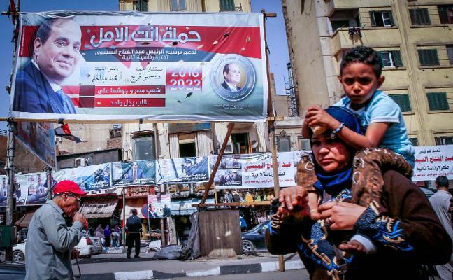 Egipto vota con la victoria de El-Sisi garantizada