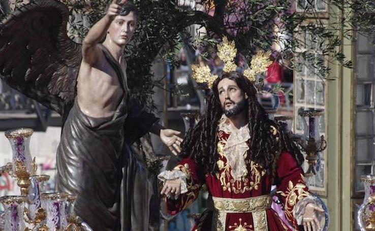 Fotos de la Archicofradía del Huerto. Domingo de Ramos de la Semana Santa de Málaga 2018