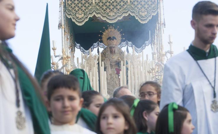 Recorrido procesional de Nueva Esperanza el Martes Santo