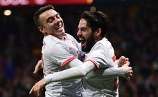España vive su noche mágica al ritmo de Isco