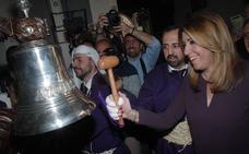 Zoido, Cospedal, Catalá y Susana Díaz acuden a las procesiones en Málaga