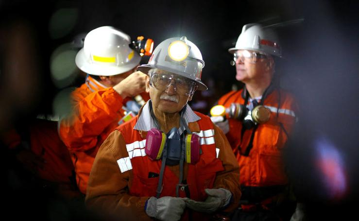 Visita a la mina El Teniente, la mayor mina subterránea del mundo