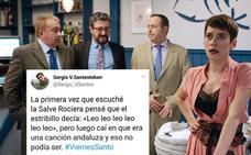 Un guionista de 'Allí abajo' la lía en Twitter con un chiste sobre los andaluces