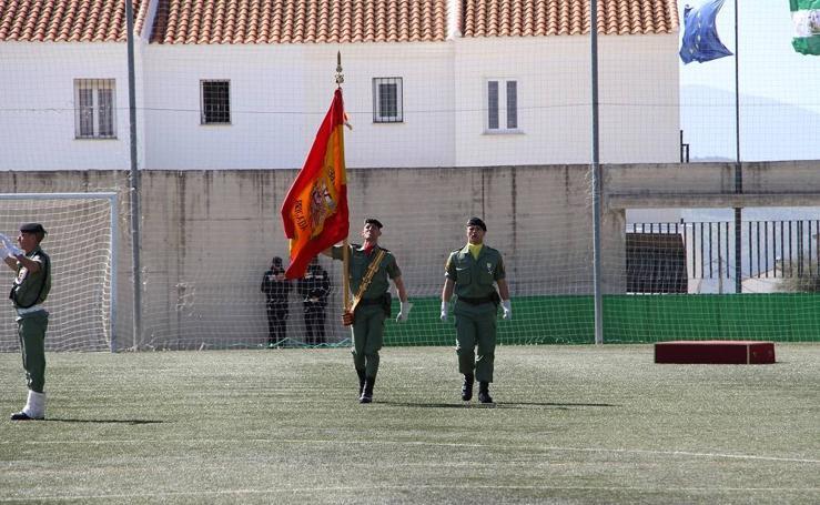 Álora jura la bandera de España