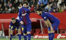 El milagro de Sevilla no oculta las dudas del Barça