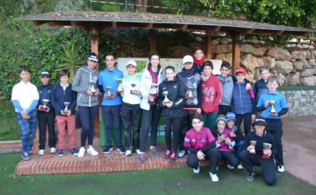 El Real Club El Candado acoge una nueva prueba del Circuito Juvenil