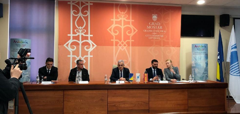 Andalucía Lab exportará su conocimiento y ayudará a Mostar en su plan de turismo