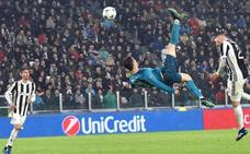 Siete millones de espectadores vieron la chilena de Ronaldo