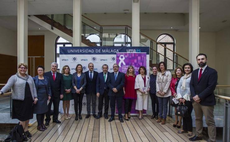 Entrega en Málaga de los reconocimientos científicos del Congreso para el Estudio de la Violencia Contra las Mujeres