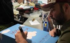 Javier Calleja: «Me siento en la Fórmula 1 del arte»
