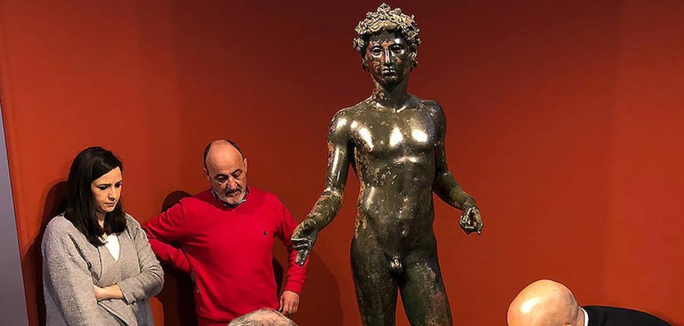 El Efebo regresa a Antequera tras medio año expuesto en el Museo Arqueológico Nacional
