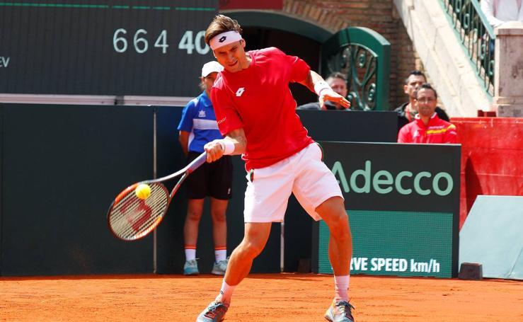 David Ferrer-Alexander Zverev, en imágenes