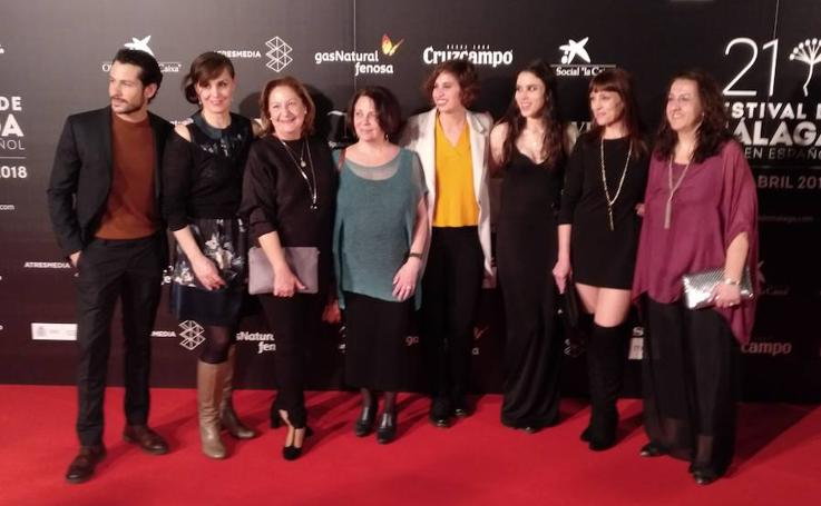 Así ha sido la alfombra roja del Festival de Málaga en Madrid