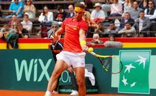 Nadal alarga su racha en la Davis y ya es el mejor de la historia