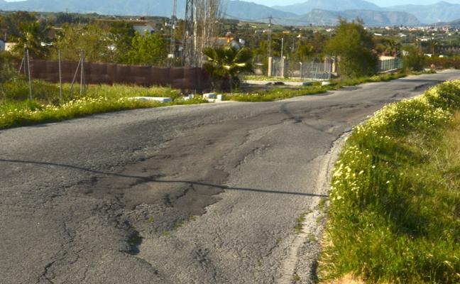 IU acusa a Ledesma de «mentir» para no arreglar la carretera de Villafranco