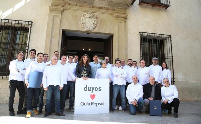 Repsol reúne a sus soles en Málaga