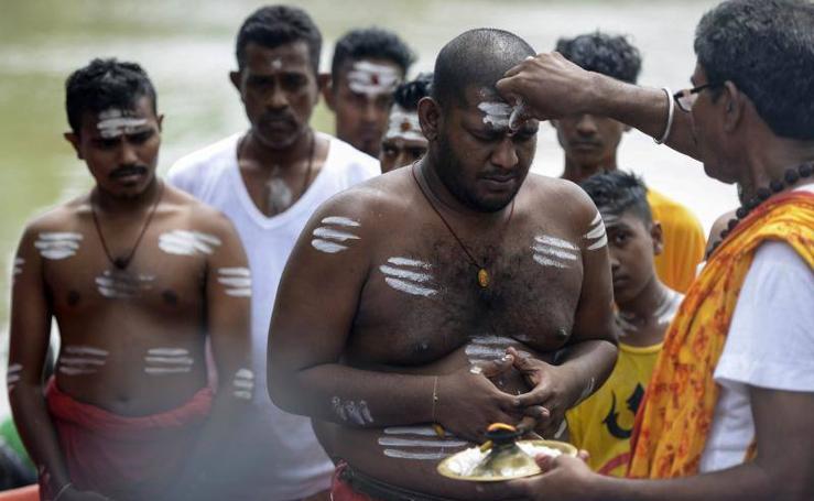 Exotismo en el festival Festival Panguni Uthiram