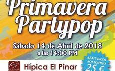Solidaridad y música en directo en Primavera Partypop, este sábado