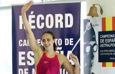 Lidón Muñoz establece un nuevo récord de España en 50 metros libre en Málaga
