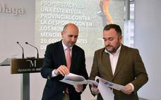 El PSOE pide un pacto en la Diputación de Málaga para luchar contra la despoblación