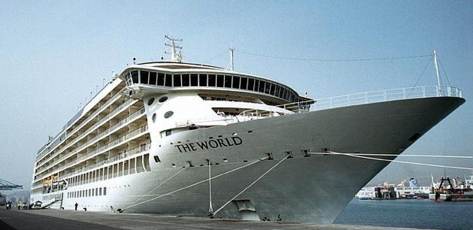 El 'crucero de los millonarios' atracará este domingo en el Puerto, donde estará tres días