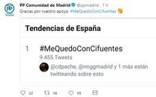 El PP de Madrid lanza la campaña #MeQuedoConCifuentes para destacar los logros de su presidenta