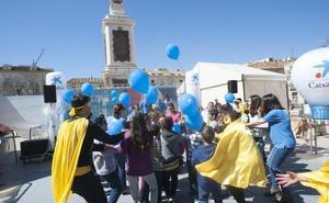 CaixaBank culmina su Semana Social en Málaga con un homenaje a los niños