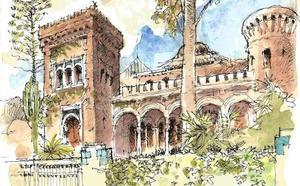 Delirio eclecticista: Palacete en la calle Pedro Mantuano