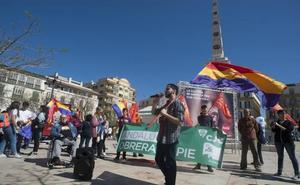 Concentración en Málaga para reclamar la Tercera República