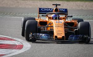 Alonso, sobre Vettel: «Su coche estaba tocado, iba en clara desventaja»