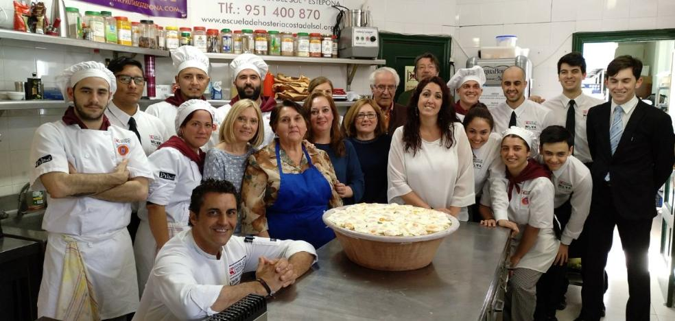 Futuros chefs aprenden de la abuela