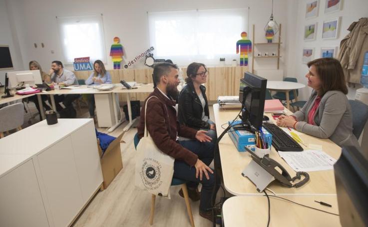 Así es la nueva Oficina de Atención al Estudiante de la UMA