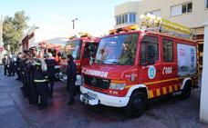 El Sindicato de Bomberos denuncia la «grave desorganización» del Cuerpo en Málaga