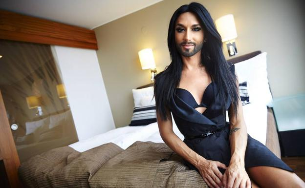 Conchita Wurst./