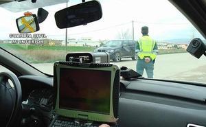 Tráfico estrecha los controles de velocidad en las carreteras