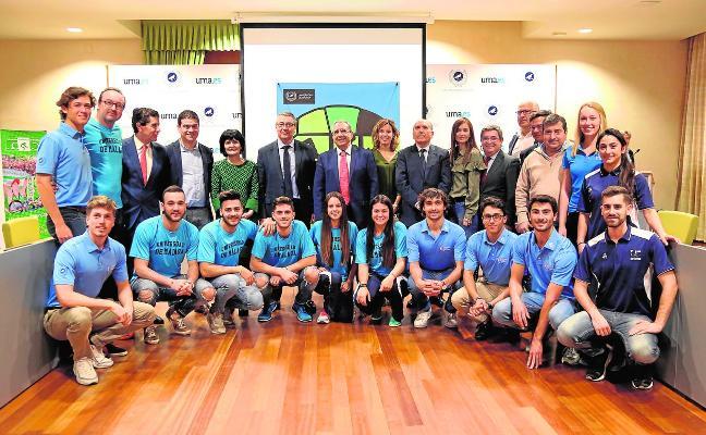 Málaga, sede de tres campeonatos universitarios, con más de 600 deportistas