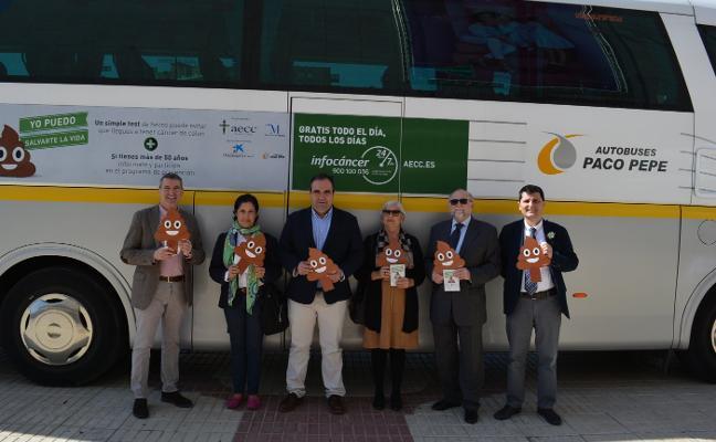 La AECC pone en marcha una campaña sobre el cribado del cáncer de colon en Málaga