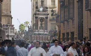 La procesión del Corpus Christi vuelve al horario de mañana después de ocho años